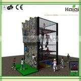 Kaiqi Kids Fun Rock Climbing Wall Playground park amusement KQ50123C                                                                         Quality Choice