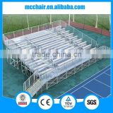 9 rows high-quality metal structure grandstand steel grandstand stadium bleacher seating system for football field outdoor sport