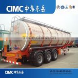 CIMC Aluminum Alloy (Fuel) Tank Trailer For Light Diesel Oil Delivery