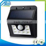 Solar Outdoor Pillar Gate Light For Garden