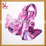 HOT Women's Lady Chiffon Butterfly Printed Scarf Soft Wrap Long Beach Neck Shawl
