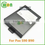1800mAh rechargeable 25b1001 battery for PAX B90 S90 POS battery 25b1001 battery pax s90 pos terminal