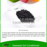 Mixing in soil master humate soil amendment humic acid