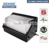 2016 DLC listed high lumen IP54 60w retrofit led wall pack light