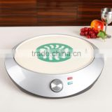 best selling electrice Non-stick coating crepe pancake maker hot pan with Automatic temperature control