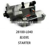 latest manufacturer direct sales starter 28100-L0latest manufacturer direct sales starter 28100-L040 for toyota hilux 4*4 pickup