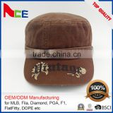 Wholesale Custom High Quality Military Boonie Hat/Cap Custom Embroidered Military Caps