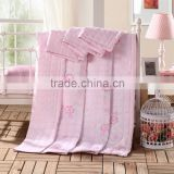 2015 China textile manufactory supply cheap king size jacquard fabric patchwork bed sheet designs silk / cotton duvet cover set