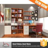 Diy Wood Specification Desk Combination Wooden Bookcase Furniture