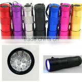 Ultra Violet Pet Urine Detector Checker UV Stain Finder Black Light Flashlight Torch 12 LED