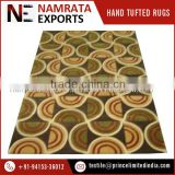 Cheap Luxury Cut Pile Wool Hand Tufted Carpet for Hotel Use
