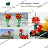 Inflatable tulip flower / Inflatable carnations flower / Inflatable flower for wedding decoration