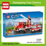 Best selling kids interlocking building brick city blocks toys set for wholease