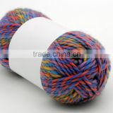 Big Loop chunky merino wool yarn for knitting very soft and smooth touch feeling blanket