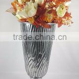 hot!! Wholesale elegant fashion Crystal flower vase, tall Flower vase for table, Flower vase for wedding