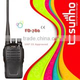 FEIDAXIN FD-780 professional with CE certification 5w digital encrypted railroad two way radio