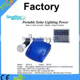 Portable solar lighting power,charge for light by solar