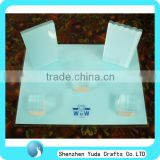 Square countertop plexiglass bracelets ring cube holder acrylic necklaces display stand jewelry display block