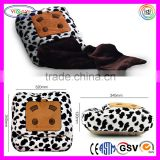 E064 Winter Plush USB Heating Warm Blanket Feet Shoes Hand Warmer Knee Pad USB Heating Blanket