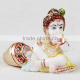 God Krishna Laddu Gopal Handmade Resin Statue Art And Craft Gallery India Hindu idols Religious Indian