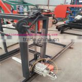 electric hard timber wood chain sawmill machine Chinese suppler sale