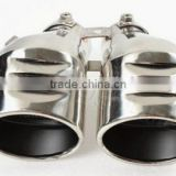 Stainless Steel Rear Exhaust Tip Pipe Muffler Kits
