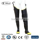 Steel Toe Rubber Hip Boots/Steel Toe Protective Hip Boots/Rubber Hip Waders