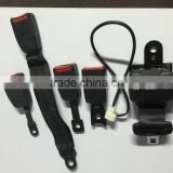 With Automatic retractor,Car 2point retractor safety seat belt . 2point seat belts with micro switch
