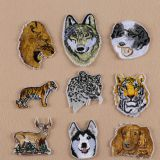 Embroidery Appliques - Heat Transfer Custom Animal Design for Promotion (Patch/Emblem/Badge/Label/Crest/Insignia)