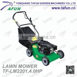 "200cc portable lawn mower with 22"" blade"