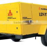 Drilling machine used 550cfm 16bar mining portable air compressor