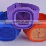 Dirt-proof youth induviduality lovely safety ss.com vintage quartz silicone watches