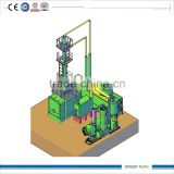Fast Instllation Oil Purifier distiller machine refining used oil and crude and pyrolysis oil 10TPD