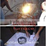 Medium frequency Aluminum/Aluminum scrap/Aluminum alloy melting furnace