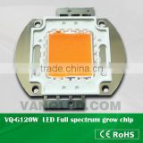 Vanq 30w 50w 100w 150w full spectrum led chip in red phosphor