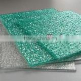 Pyramid shape polycarbonate solid sheet