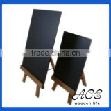 Wooden Blackboard Wooden Menu Board for Restaurant MDF Memo Board Solid Frame Chalk Board
