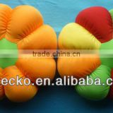 pumpkin shape foam bead cushion for decorative