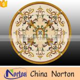 Norton luxury design round marble tiles design medallion with low price NTMS-MM018L