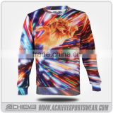 gym custom hoodies sublimation multicolor fleece sweaters polyester sweatshirts active hooded suits uniforms