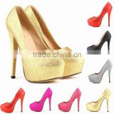 2016 The bride shoes super high heels new model women dress shoes