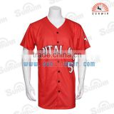 Wholesale Floral Softball Jersey 2015 Customized Team Tops Mens Customzied Blank Baseball Jersey