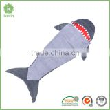 2017 Cheap Wholesale Grey Shark Tail Blanket