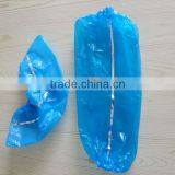Disposable CPE detective overshoe for food industry