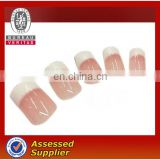 Custom french Fake Nails artificial fingernails