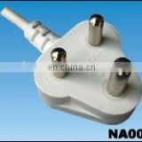 Indian standard plug supplier china used laptops wholesale uk power cable power cord extension white