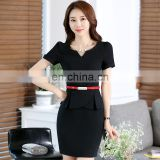 Brand quality OEM/ODM 1 pieces Fashion Workwear/Professional Suit-dress/Lady Suit/Overall