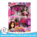 Hot sale beautiful plastic fashion dolls 11 inch for girl