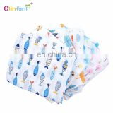 Elinfant baby muslin swaddle blanket colorful safety soft breathable swaddle wrap
