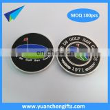 custom poker chip golf ball marker magnetic coin golf ball marker